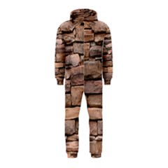 STONE WALL BROWN Hooded Jumpsuit (Kids)
