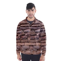 STONE WALL BROWN Wind Breaker (Men)