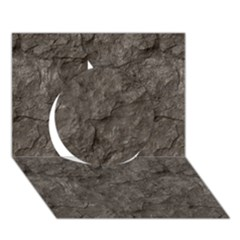 STONE Circle 3D Greeting Card (7x5)