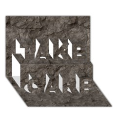 STONE TAKE CARE 3D Greeting Card (7x5)