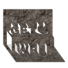 Stone Get Well 3d Greeting Card (7x5)