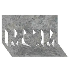 SILVER TRAVERTINE MOM 3D Greeting Card (8x4)