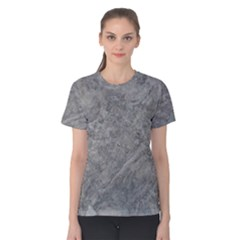 SILVER TRAVERTINE Women s Cotton Tee