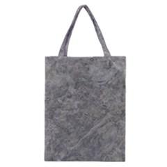 SILVER TRAVERTINE Classic Tote Bags