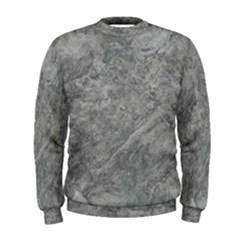 SILVER TRAVERTINE Men s Sweatshirts