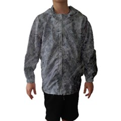 SILVER TRAVERTINE Hooded Wind Breaker (Kids)