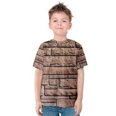 SANDSTONE BRICK Kid s Cotton Tee