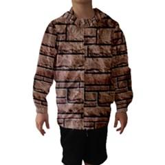 Sandstone Brick Hooded Wind Breaker (kids)