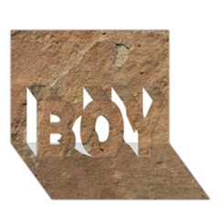 Sandstone Boy 3d Greeting Card (7x5)