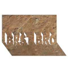 SANDSTONE BEST BRO 3D Greeting Card (8x4)