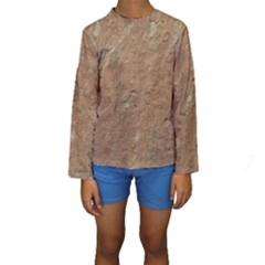 Sandstone Kid s Long Sleeve Swimwear