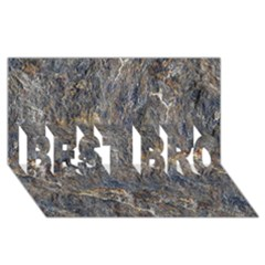 RUSTY STONE BEST BRO 3D Greeting Card (8x4)