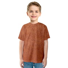 RUST COLORED STUCCO Kid s Sport Mesh Tees