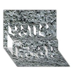 ROUGH GREY STONE You Rock 3D Greeting Card (7x5)