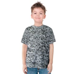 ROUGH GREY STONE Kid s Cotton Tee