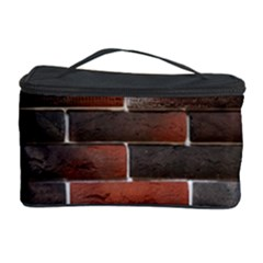 Red And Black Brick Wall Cosmetic Storage Cases