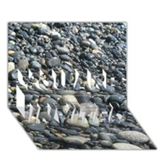 Pebbles You Are Invited 3d Greeting Card (7x5)