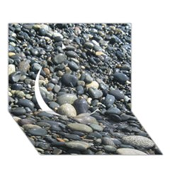 PEBBLES Circle 3D Greeting Card (7x5)