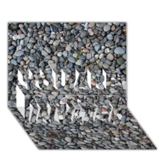 Pebble Beach You Are Invited 3d Greeting Card (7x5)