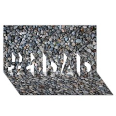 PEBBLE BEACH #1 DAD 3D Greeting Card (8x4)