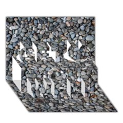 PEBBLE BEACH Get Well 3D Greeting Card (7x5)