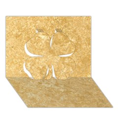 NOCE TRAVERTINE Clover 3D Greeting Card (7x5)
