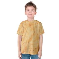 Marble Light Tan Kid s Cotton Tee