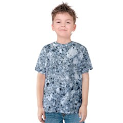 MARBLE LIGHT GREY Kid s Cotton Tee
