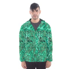 MARBLE GREEN Hooded Wind Breaker (Men)