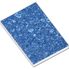 Marble Blue Large Memo Pads