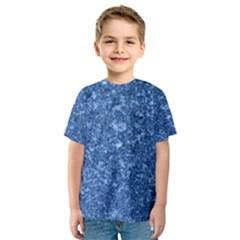 MARBLE BLUE Kid s Sport Mesh Tees