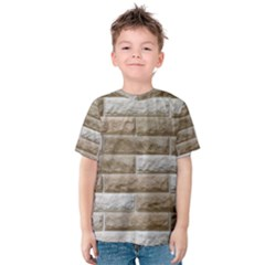 LIGHT BRICK WALL Kid s Cotton Tee