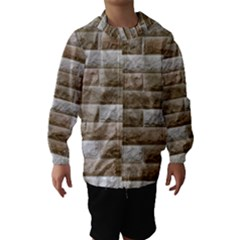 Light Brick Wall Hooded Wind Breaker (kids)