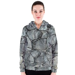 GREY STONE PILE Women s Zipper Hoodies