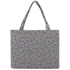 GREY MARBLE Tiny Tote Bags