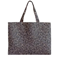 Grey Marble Zipper Tiny Tote Bags