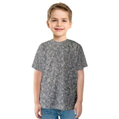 Grey Marble Kid s Sport Mesh Tees