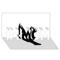Crow #1 MOM 3D Greeting Cards (8x4)