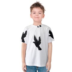 Hovering crow Kid s Cotton Tee