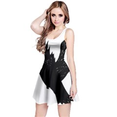 Hovering Crow Reversible Sleeveless Dresses