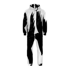 Hovering crow Hooded Jumpsuit (Kids)