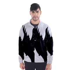 Hovering crow Wind Breaker (Men)