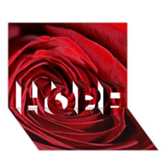 Beautifully Red HOPE 3D Greeting Card (7x5)