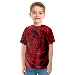 Beautifully Red Kid s Sport Mesh Tees