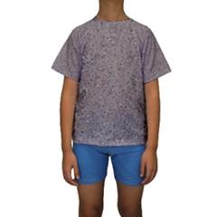 GRANITE RED-GREY Kid s Short Sleeve Swimwear