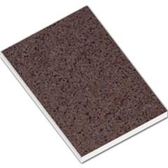 Granite Red Brown Large Memo Pads