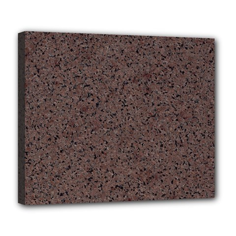 GRANITE RED-BROWN Deluxe Canvas 24  x 20