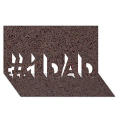 GRANITE RED-BROWN #1 DAD 3D Greeting Card (8x4)