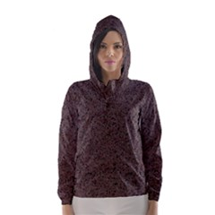 GRANITE RED-BROWN Hooded Wind Breaker (Women)