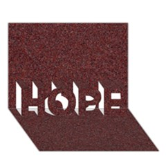 Granite Red 1 Hope 3d Greeting Card (7x5)
